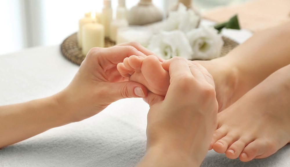 Tratamento de pés